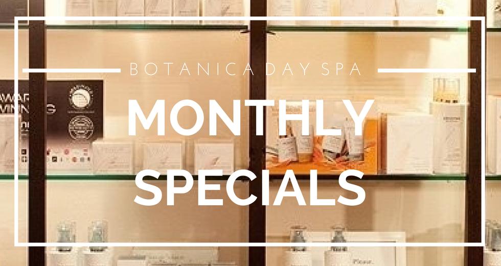 Botanica Day Spa Specials