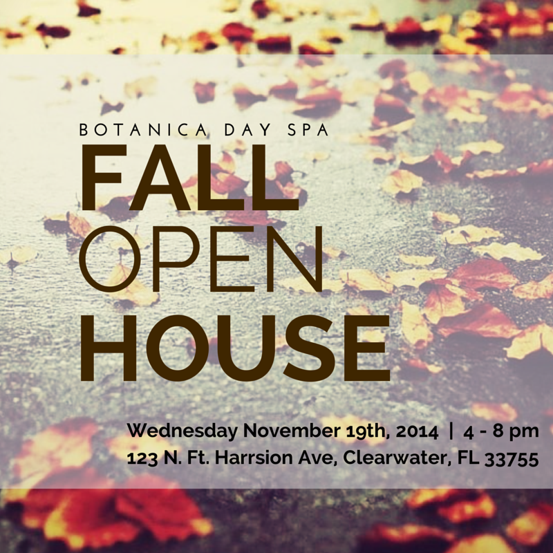Fall Open House - Botanica Day Spa