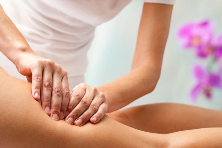 Антицеллюлитный массаж спины