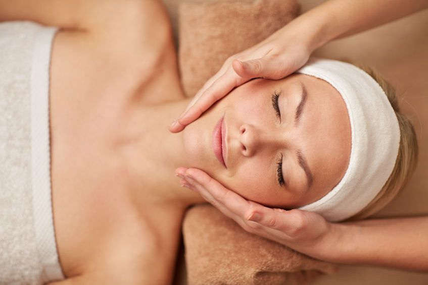 rosacea soothing facial