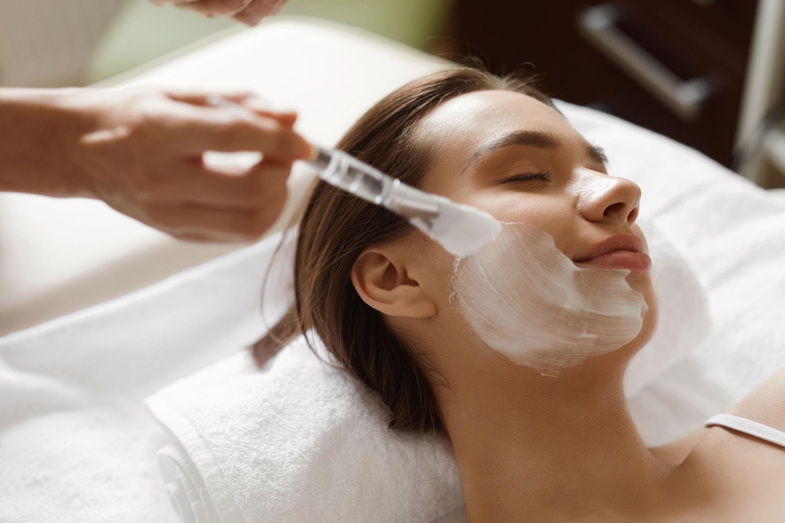 dry skin facial