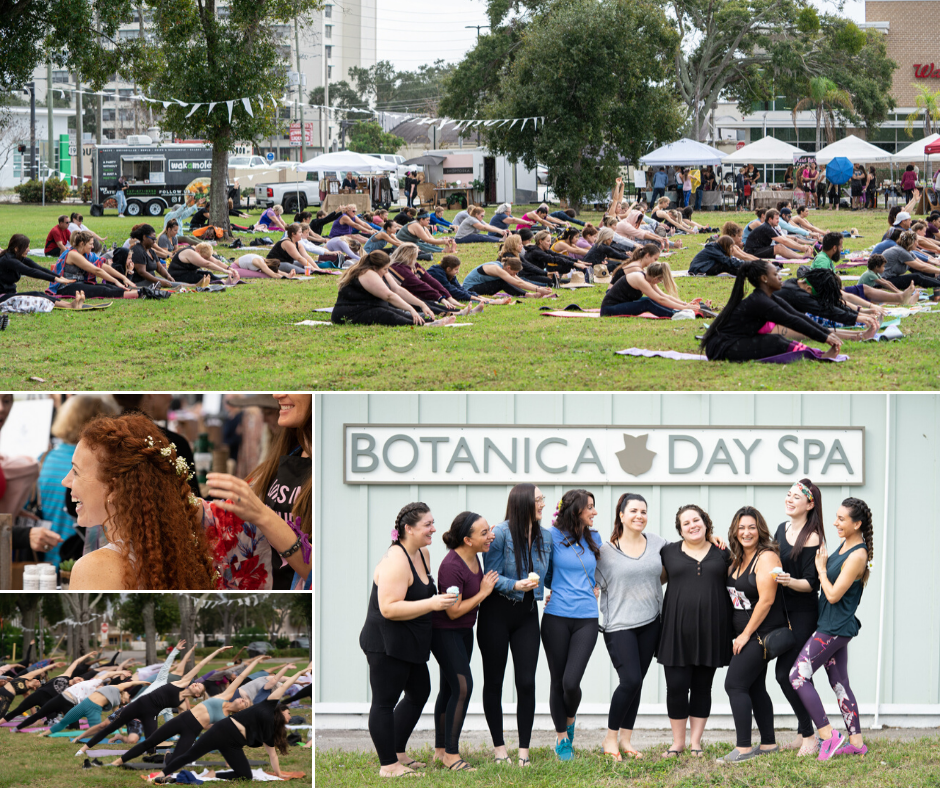 Botanica Day Spa - Botanica Yoga Event 2020