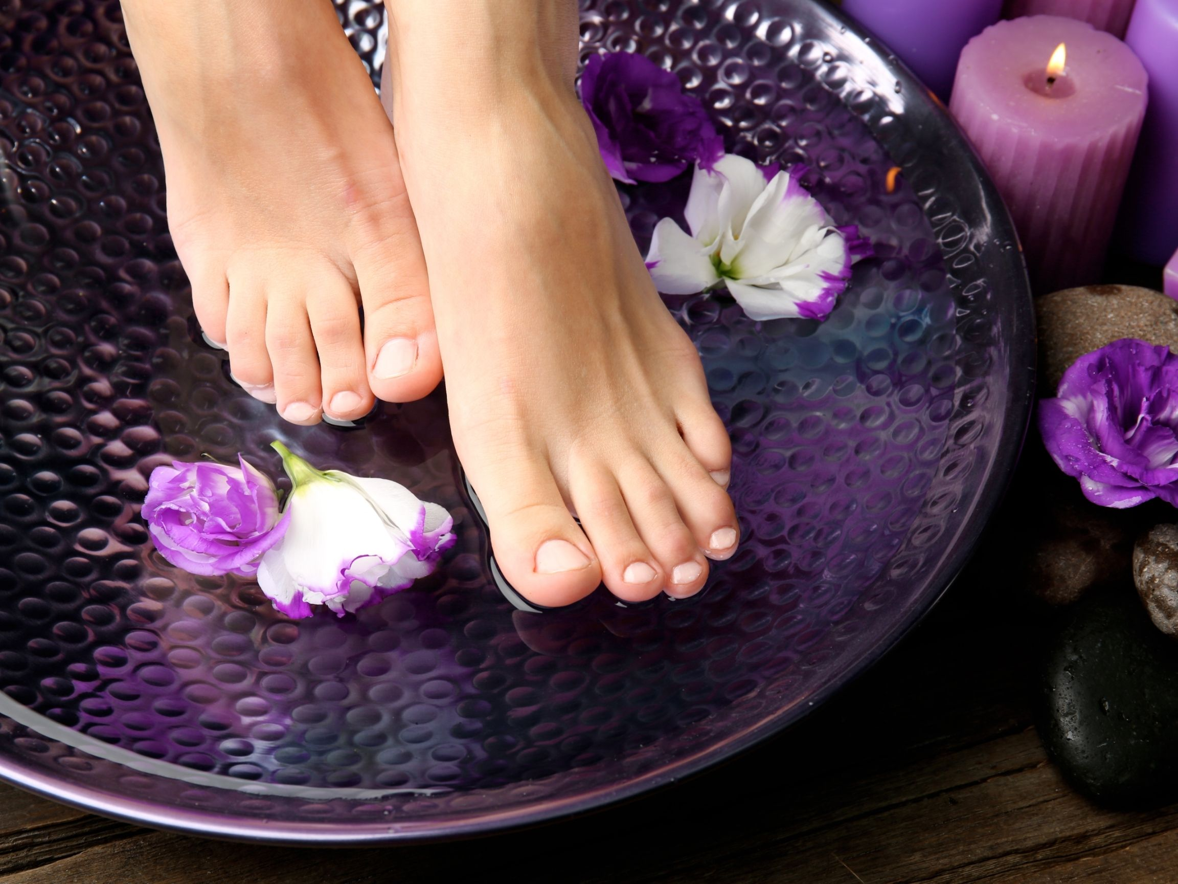 remove dead skin on feet